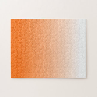 Orange Gradient Jigsaw Puzzle