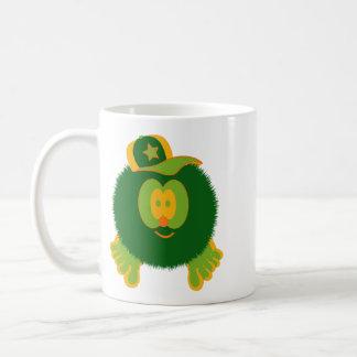 Orange Green Baseball Cap Mug