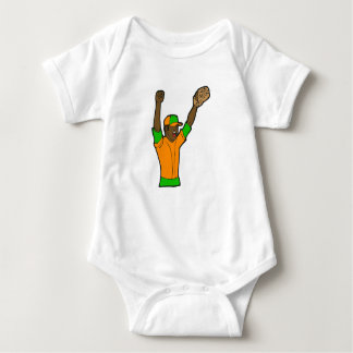Orange Green Baseball Tee Shirts