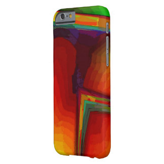 Orange green case for iPhone 6 Barely There iPhone 6 Case