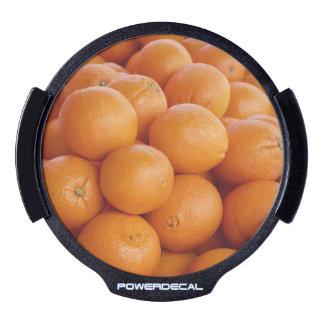 orange LED car decal
