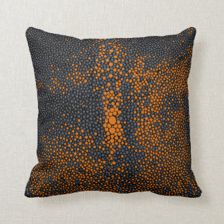 Orange & Grey Shagreen Cushion
