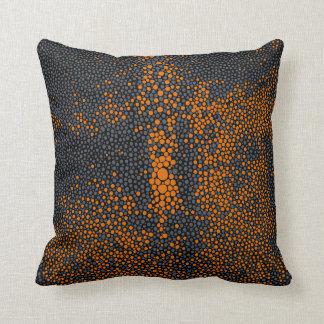 Orange & Grey Shagreen Cushion