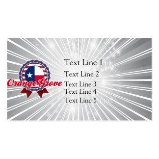 Orange Grove, TX Pack Of Standard Business Cards