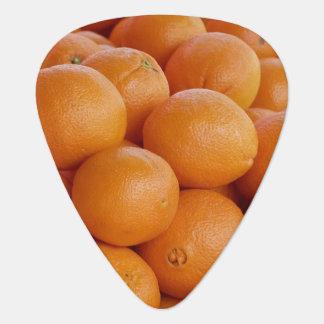 orange guitar pick