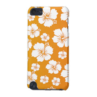 Orange Hawaii Flower Design iPod Touch (5th Generation) Covers