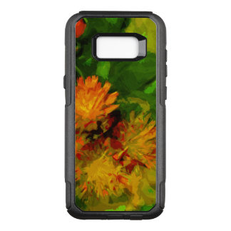 Orange Hawkweed Wildflower Blossoms Abstract OtterBox Commuter Samsung Galaxy S8+ Case