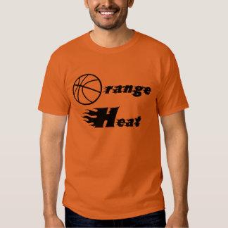 Orange Heat Longsleeve Tee