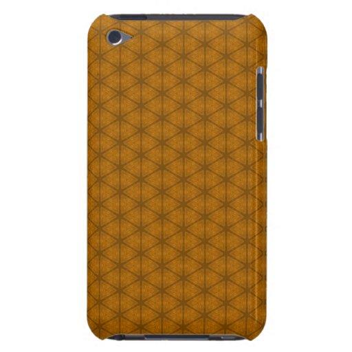 Orange Hexagon Case-Mate iPod Touch Case