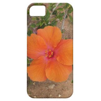 Orange Hibiscus iPhone 5 Case-Mate