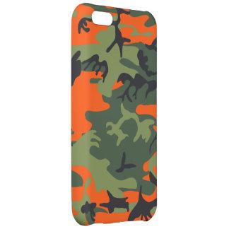 Orange Hunter Camo Case For iPhone 5C