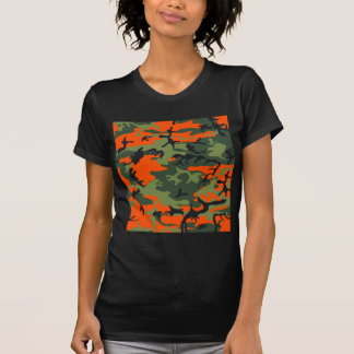 Orange Hunter Camo T-Shirt