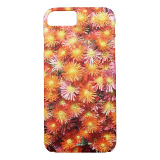 Orange Ice Plant flowers iPhone 8/7 Case