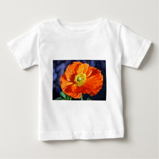 Orange Icelandic Poppy Baby T-Shirt