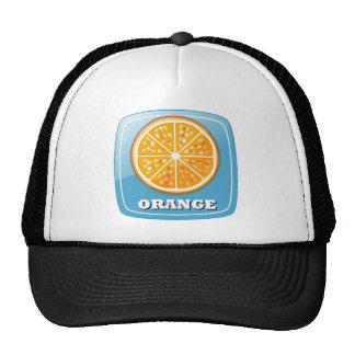 Orange Icon Trucker Hat