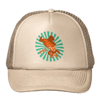 Orange Ika Cap