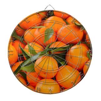 orange in winter dartboard