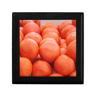orange in winter gift box
