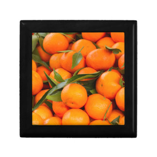 orange in winter gift box