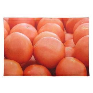 orange in winter placemat