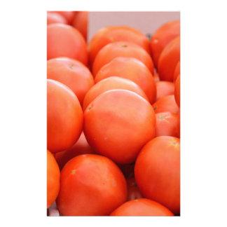 orange in winter stationery