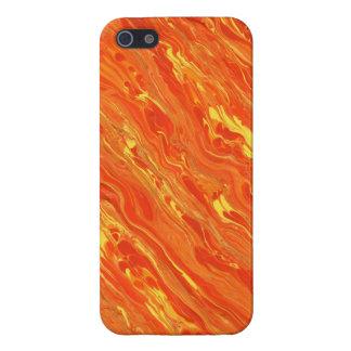 orange iPhone 5/5S case