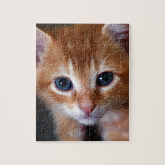 Orange Is The New Cat Jigsaw Puzzle