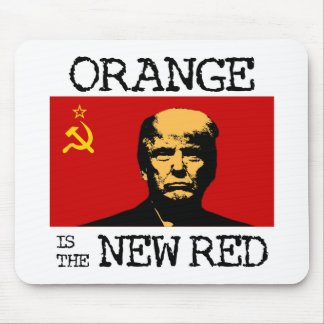 Orange Is The New Red Mouse Mat