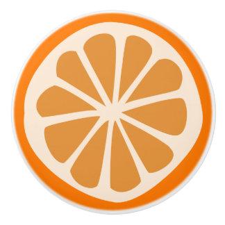 Orange J Ceramic Knob