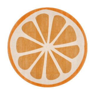 Orange J Cutting Board