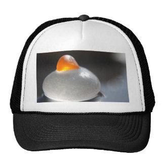 Orange Jelly Mesh Hat