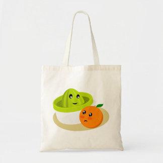 Orange Juice (Orange and Squeezer) Tote Bag