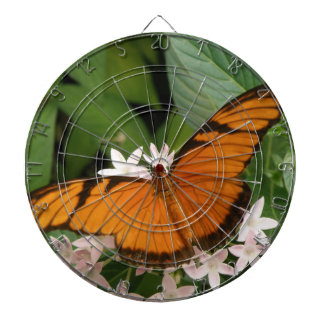 Orange Julia Butterfly Dart Board