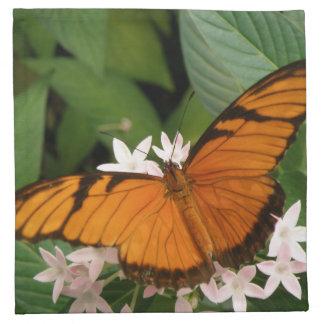 Orange Julia Butterfly Napkin