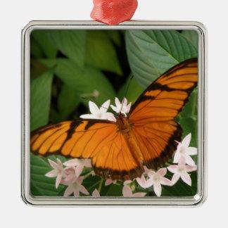 Orange Julia Butterfly Ornament