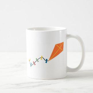 Orange Kite Coffee Mug