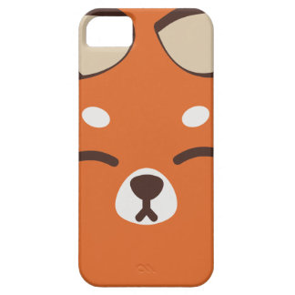 Orange Kitsune Fox Barely There iPhone 5 Case