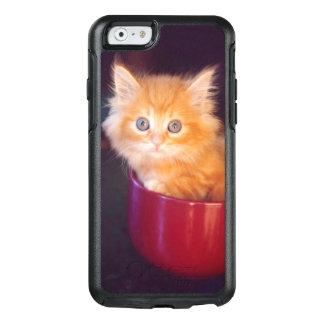 Orange Kitten In A Red Mug OtterBox iPhone 6/6s Case
