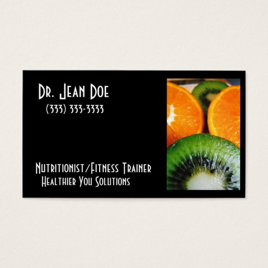 Orange_kiwi2 Business Card