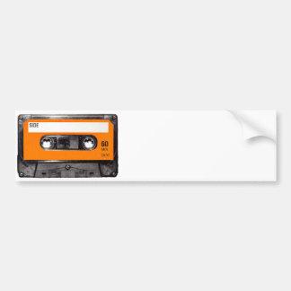 Orange Label 80 s Cassette Bumper Stickers