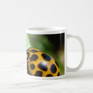 Orange Lady Bettle Coffee Mug