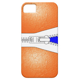 Orange Leather Jacket Look Iphone Case iPhone 5 Covers