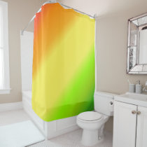 Orange, Lemon & Lime Citrus Shades Shower Curtain
