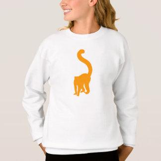 Orange Lemur Sweatshirt