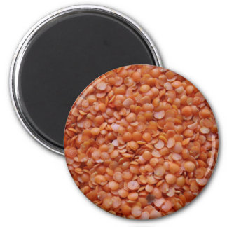 Orange Lentils Magnet
