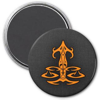 Orange Libra Magnet