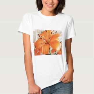 Orange Lilies: Flowers: Tshirt