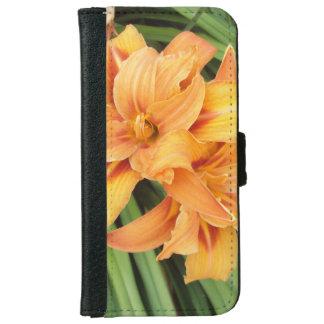 Orange Lilies iPhone 6 Wallet Case