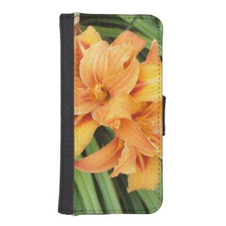 Orange Lilies iPhone SE/5/5s Wallet Case