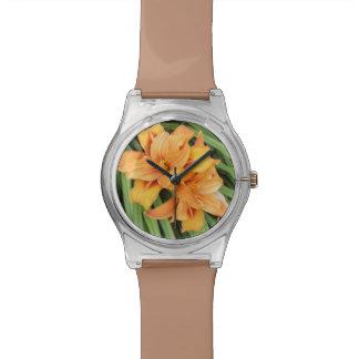 Orange Lilies Watch